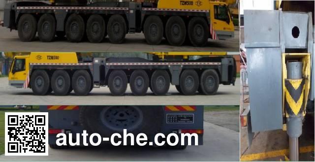 TZ (TYHI) TZH5960JQZ(TZM500) all terrain mobile crane