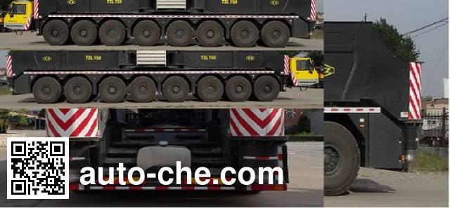 TZ (TYHI) TZH5961JQZ(TZL750) автокран повышенной проходимости