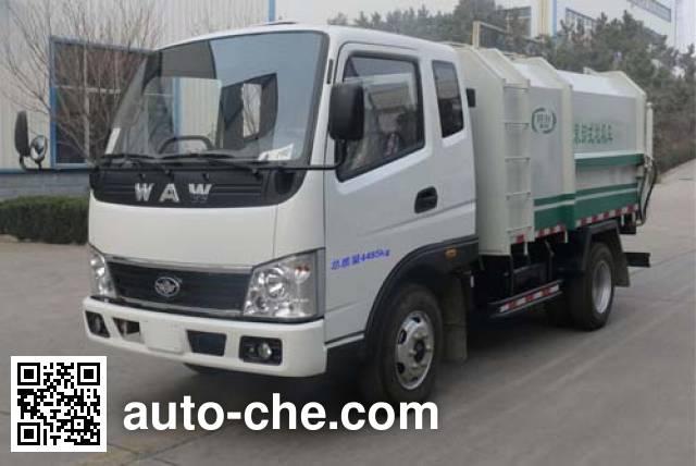 Wuzheng WAW WL4015PDQ1 low speed garbage truck