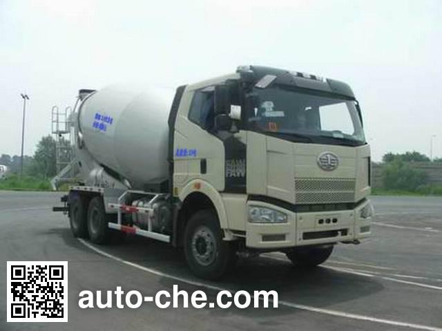 瑞江牌WL5250GJBCA43混凝土搅拌运输车