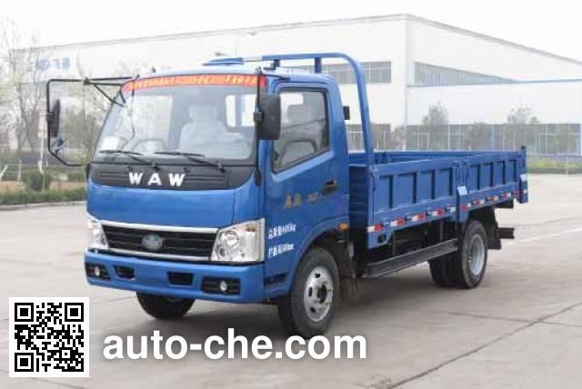 五征牌WL4020D1自卸低速货车