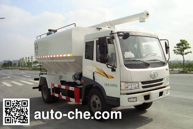 Baiqin XBQ5120GSLB electric bulk feed auger truck