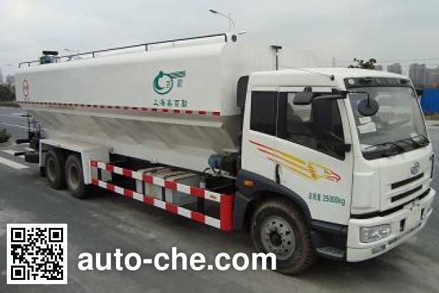 Baiqin XBQ5250GSLB electric bulk feed auger truck