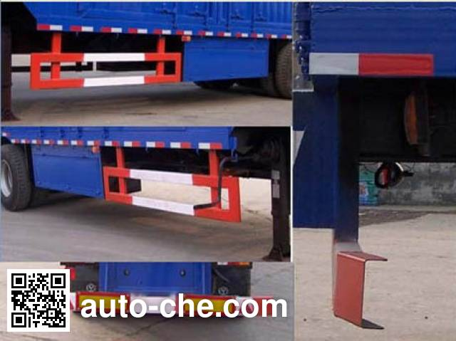 Chengtai XCT9403XXY box body van trailer