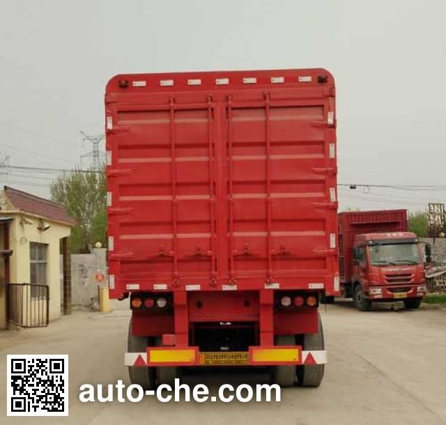 Xinhongda XHD9401CCY полуприцеп с решетчатым тент-каркасом