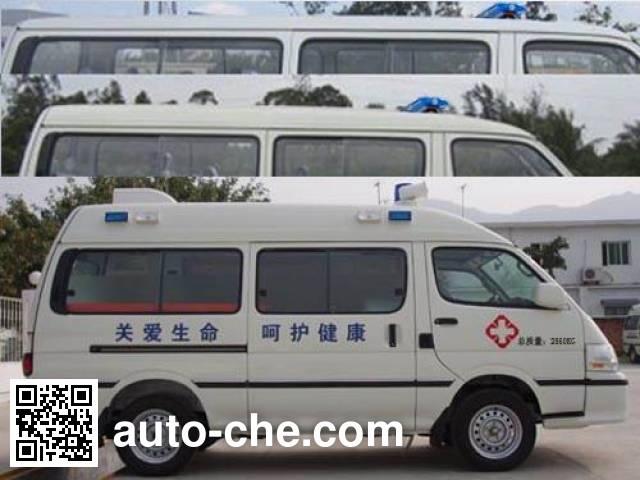 金旅牌XML5035XJH95救护车