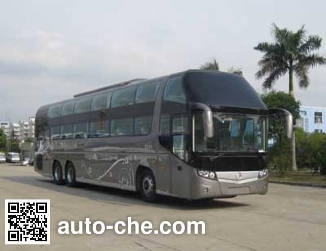 金旅牌XML6148J18W卧铺客车