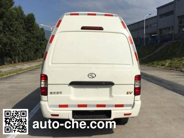 King Long XMQ5030XXYBEVS06 electric cargo van