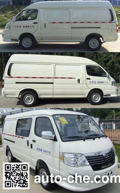 King Long XMQ5030XXYBEVS03 electric cargo van