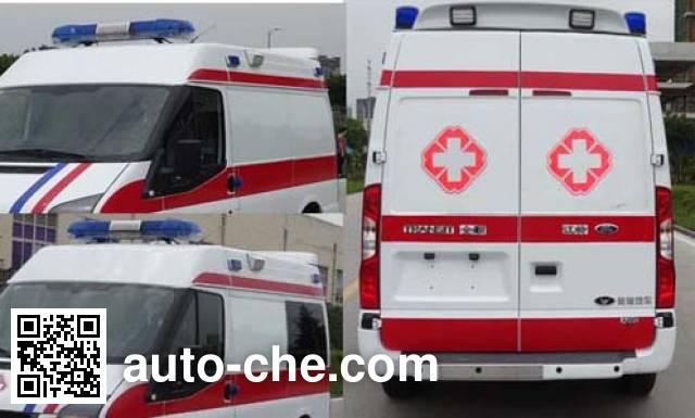 星通牌XTP5040XJH救护车