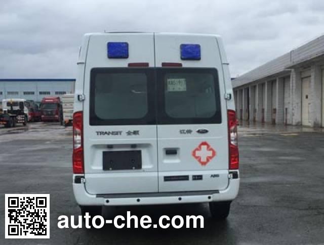 新阳牌XY5042XJH救护车