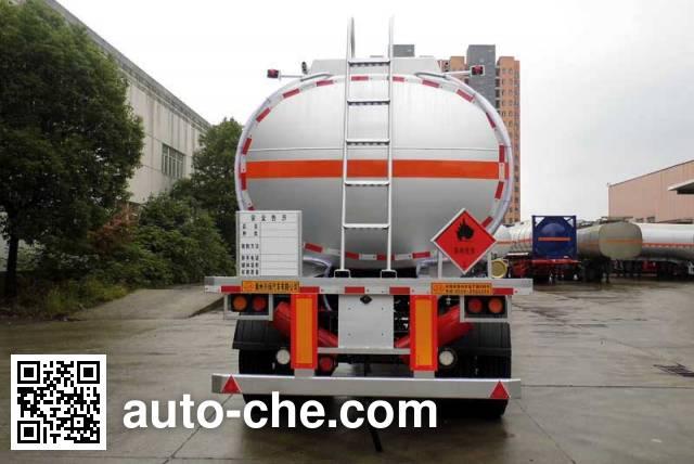 Xingyang XYZ9350GRY flammable liquid tank trailer
