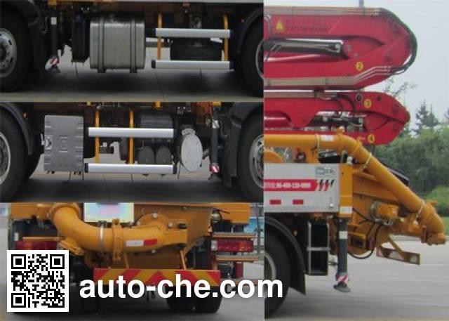 徐工牌XZJ5160THBZ混凝土泵车