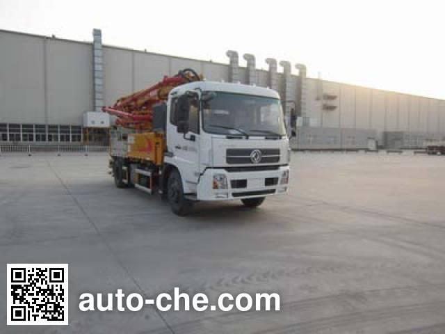 XCMG XZJ5161THBD concrete pump truck