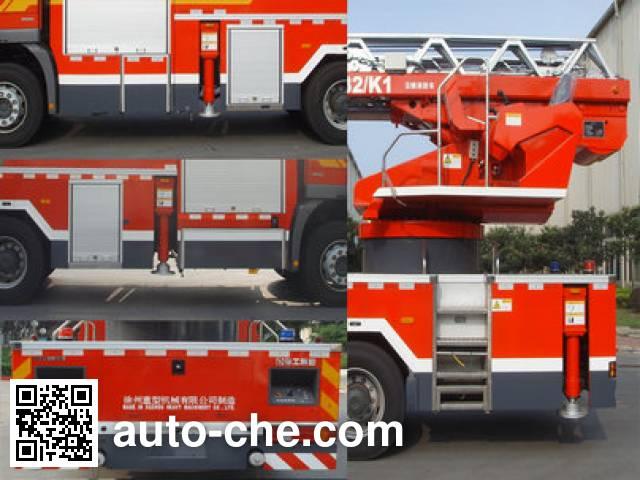 XCMG XZJ5296JXFYT32/K1 aerial ladder fire truck