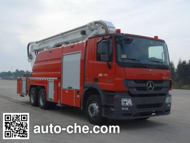 XCMG XZJ5313JXFJP19 high lift pump fire engine