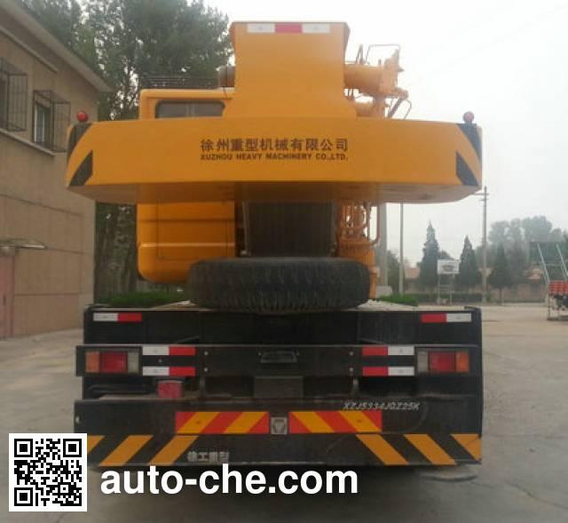 XCMG XZJ5334JQZ25K truck crane