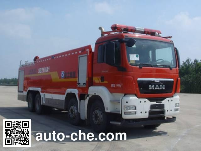 XCMG XZJ5390GXFSG210/A1 fire tank truck
