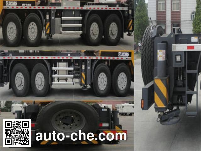 XCMG XZJ5480JQZ75K truck crane