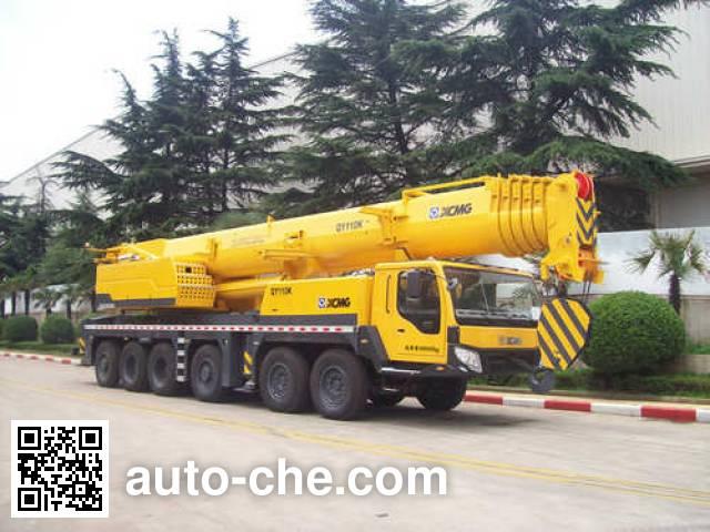 XCMG XZJ5554JQZ110K truck crane