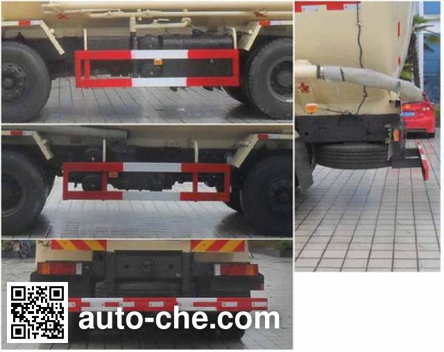 Shenying YG5310GFLA20 low-density bulk powder transport tank truck