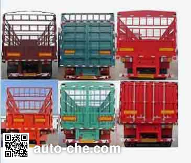 Shacman YLD9400CCY stake trailer
