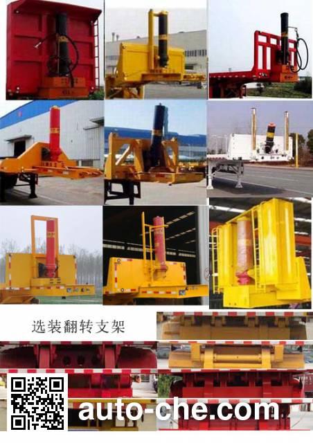 Ruiyun YRD9401ZZXPH flatbed dump trailer