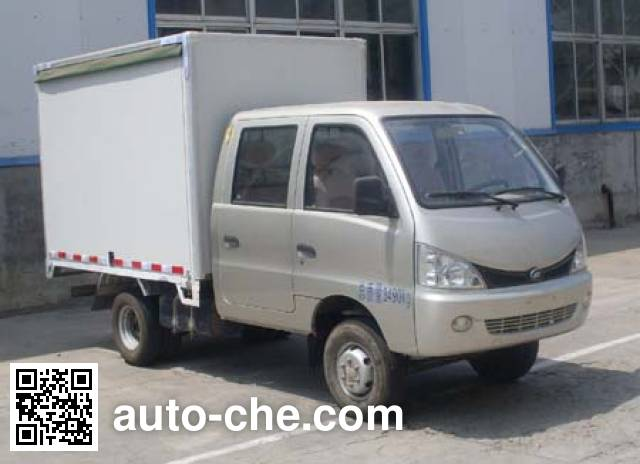 Heibao YTQ5036XYKW30GV автофургон с подъемными бортами (фургон-бабочка)
