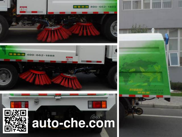 Yutong YTZ5070TSLZZBEV electric street sweeper truck