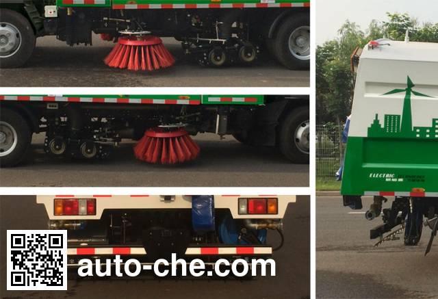 Yutong YTZ5070TXSZ0BEV electric street sweeper truck