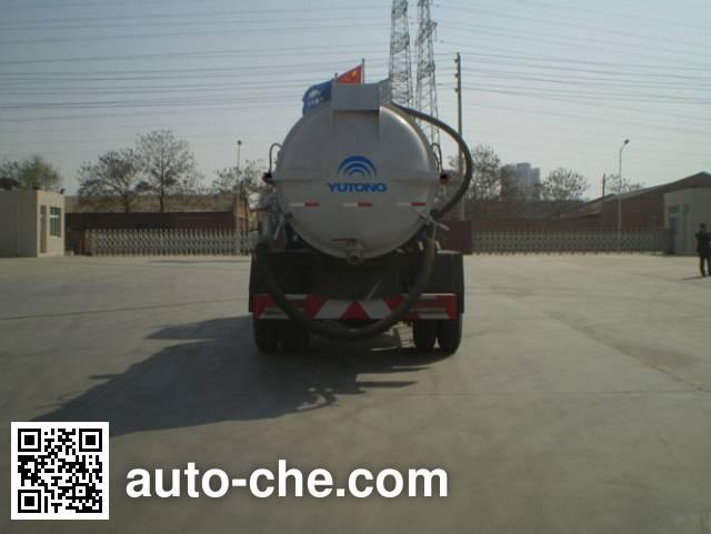 Yutong YTZ5108GXW20E vacuum sewage suction truck