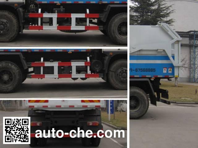 Yutong YTZ5163ZLJ21F dump garbage truck