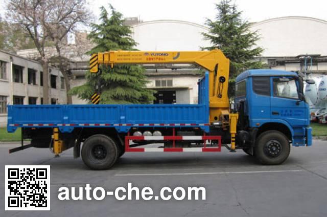 Yutong YTZ5168JSQ20F truck mounted loader crane