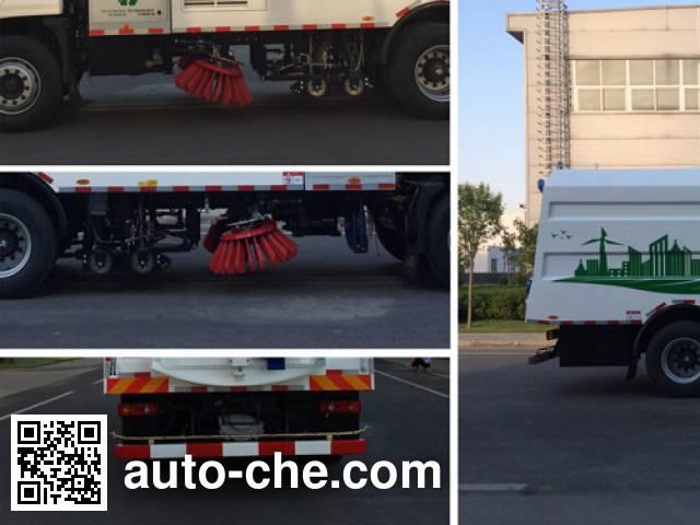 Yutong YTZ5170TXSZ1BEV electric street sweeper truck
