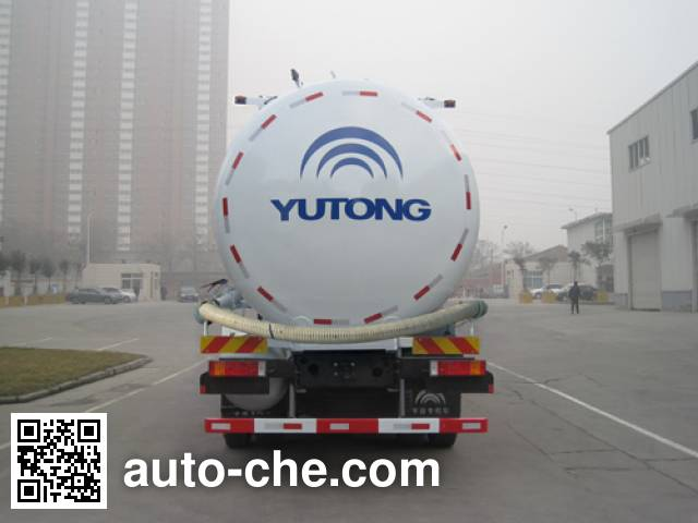 Yutong YTZ5250GFL20F low-density bulk powder transport tank truck