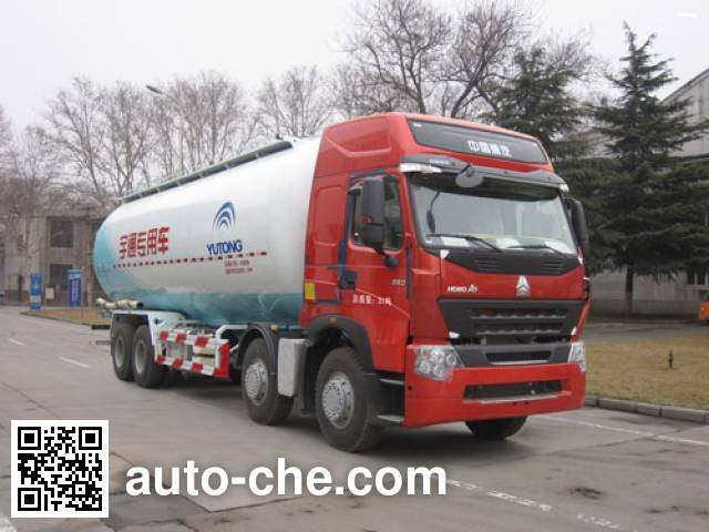 Yutong YTZ5317GFL40F low-density bulk powder transport tank truck