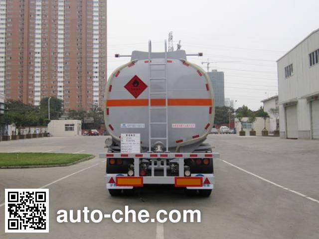 Yutong YTZ9400GRYA flammable liquid tank trailer