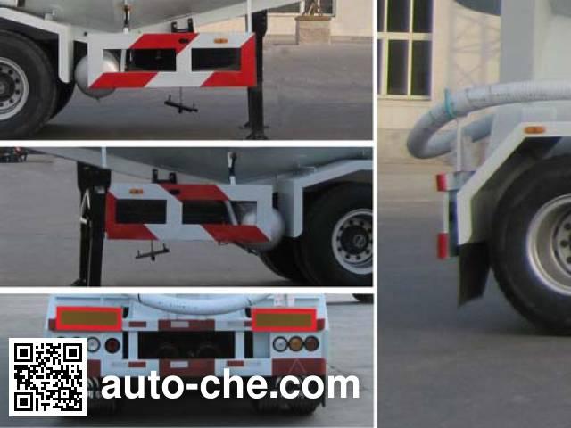 Yutong YTZ9402GFL medium density bulk powder transport trailer