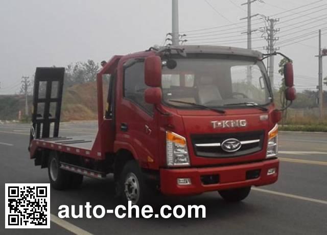 T-King Ouling ZB5040TPBUDD6V грузовик с плоской платформой