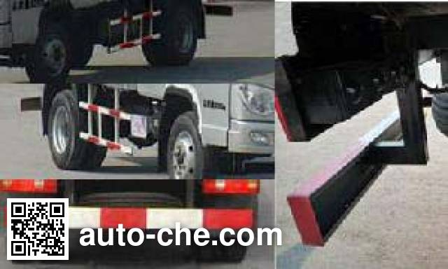 T-King Ouling ZB5040XPYBPB7S soft top box van truck