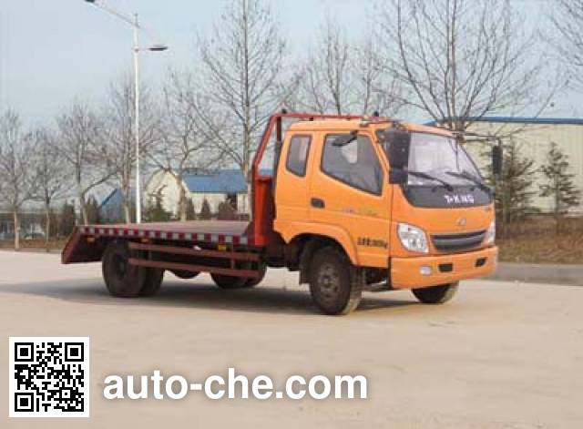 T-King Ouling ZB5130TPBP flatbed truck