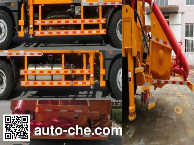 海隆吉特牌ZHL5180THB混凝土泵车