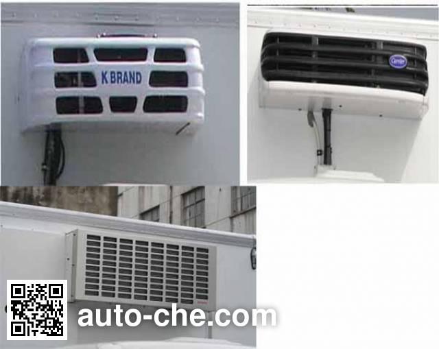 飞球牌ZJL5049XLCB冷藏车