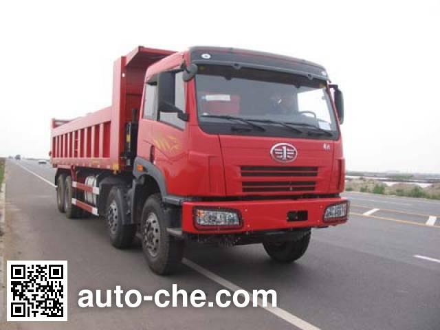 CIMC ZJV3310YK43 Dump truck on CA3312P2K2L2BT4E chassis