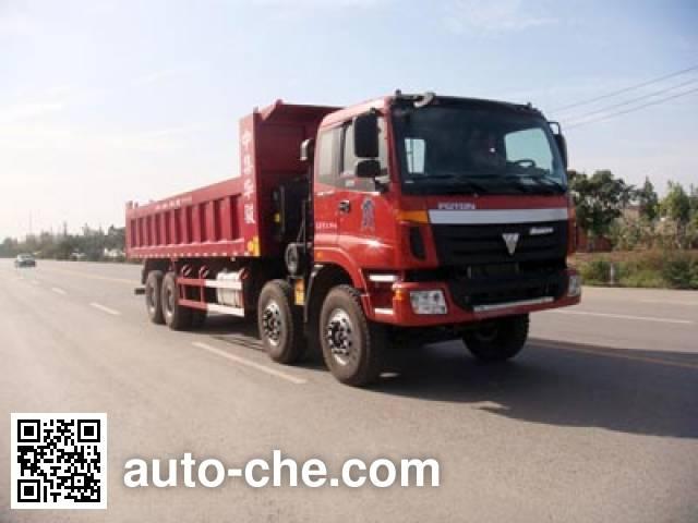 CIMC ZJV3311HJBJB Dump truck on BJ3318DMPKJ-1 chassis (Batch