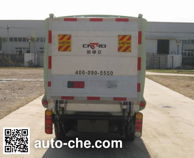 CIMC ZJV5020XTYHBEV electric sealed garbage container truck
