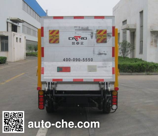 CIMC ZJV5030CTYHBB5 trash containers transport truck