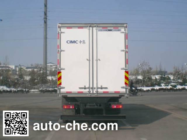CIMC ZJV5166XBWSD insulated box van truck