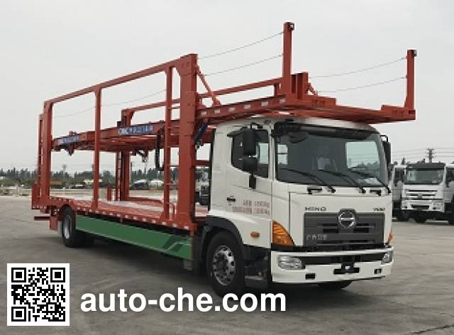 CIMC ZJV5180TCLJM car transport truck