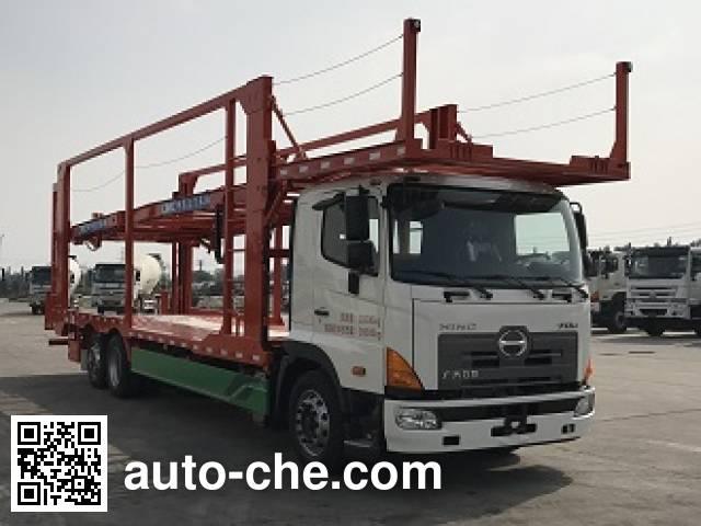 CIMC ZJV5200TCLJM car transport truck